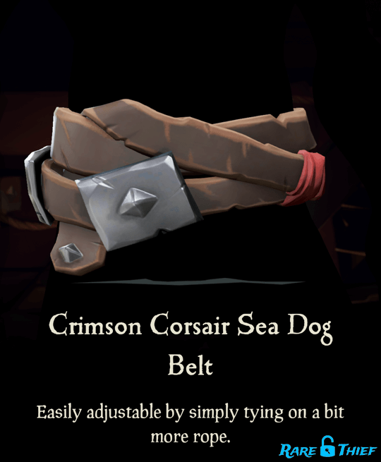 Crimson Corsair Sea Dog Belt