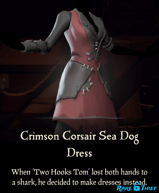 Crimson Corsair Sea Dog Dress