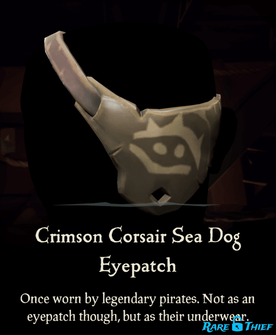 Crimson Corsair Sea Dog Eyepatch