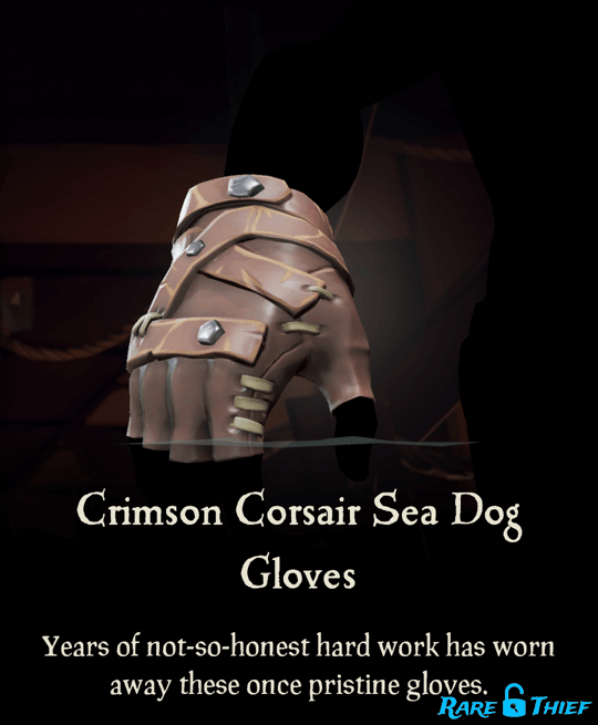 Crimson Corsair Sea Dog Gloves