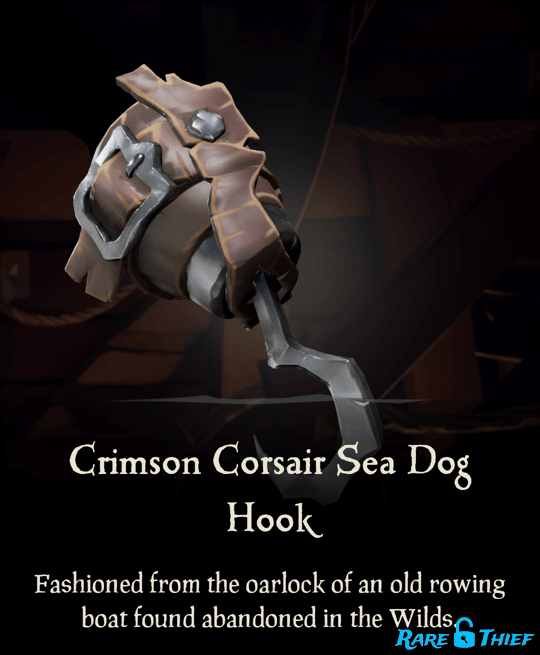 Crimson Corsair Sea Dog Hook