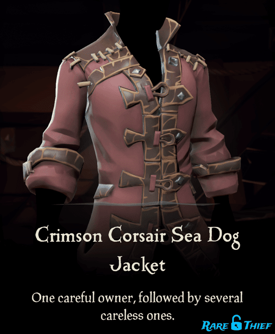 Crimson Corsair Sea Dog Jacket