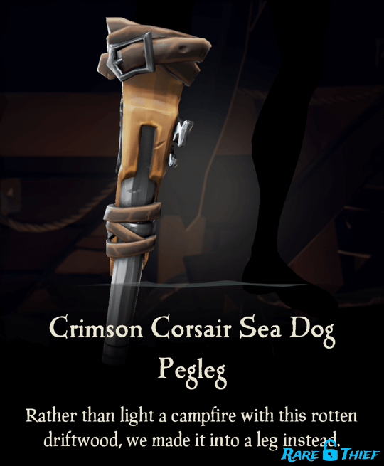 Crimson Corsair Sea Dog Pegleg