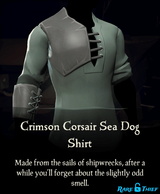 Crimson Corsair Sea Dog Shirt