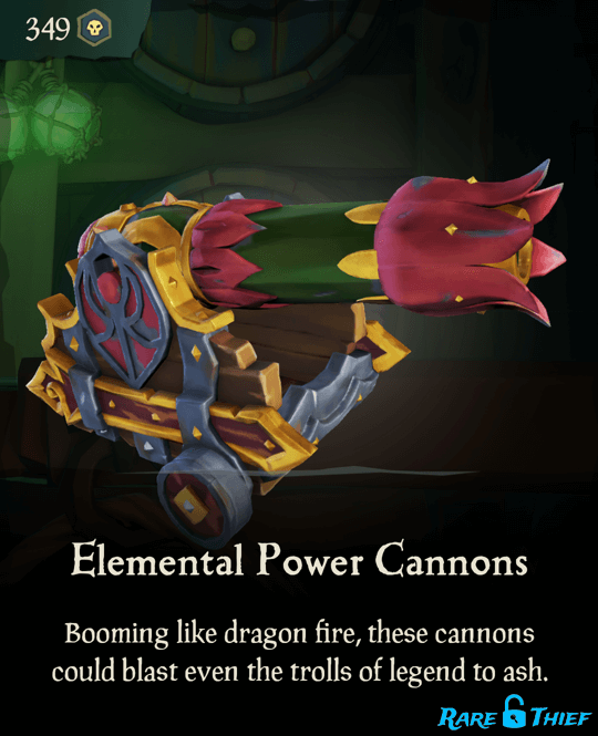 Elemental Power Cannons