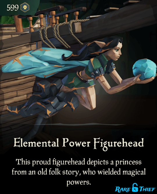 Elemental Power Figurehead