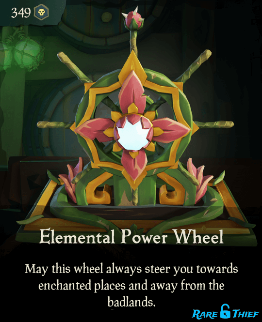 Elemental Power Wheel