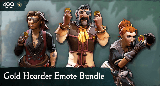Gold Hoarder Emote Bundle