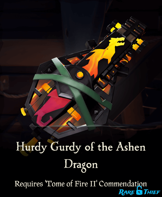 Hurdy Gurdy of the Ashen Dragon