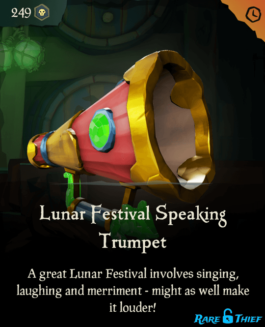 Lunar Festival Speaking Trumpet