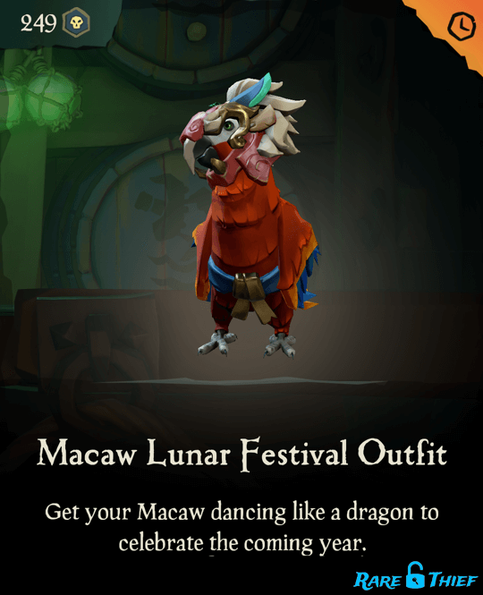 Macaw Lunar Festival Outfit