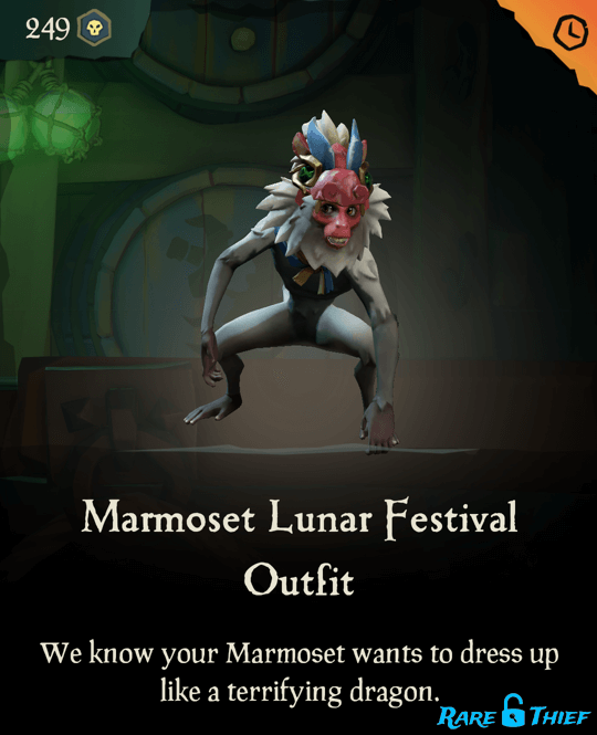 Marmoset Lunar Festival Outfit
