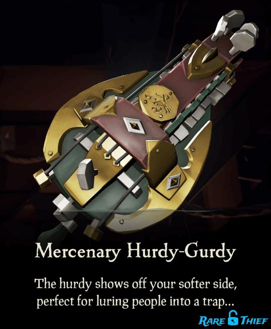 Mercenary Hurdy Gurdy