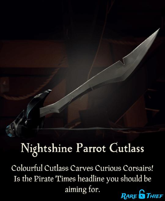 Nightshine Parrot Cutlass
