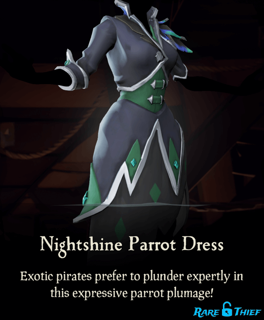 Nightshine Parrot Dress