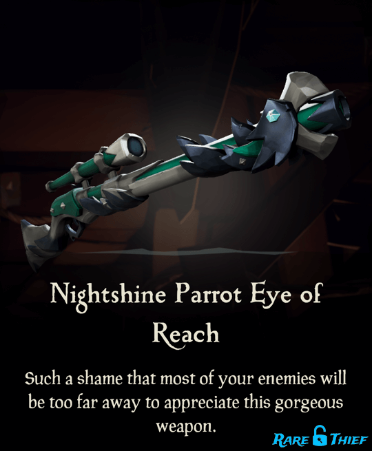 Nightshine Parrot Eye of Reach