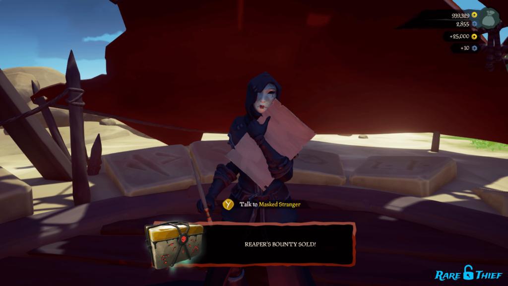 Sold Reaper's Bounty