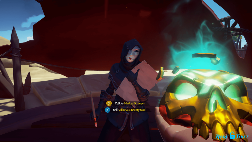 Sell Villainous Bounty Skull