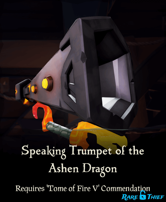 Speaking Trumpet of the Ashen Dragon