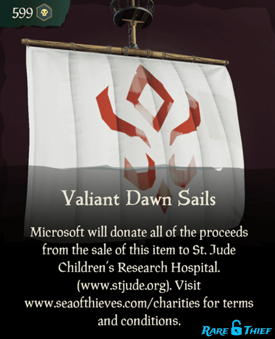 Valiant Dawn Sails