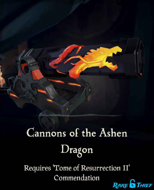 Cannons of the Ashen Dragon