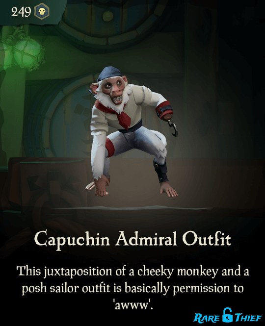 Capuchin Admiral Outfit
