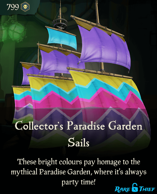 Collector's Paradise Garden Sails