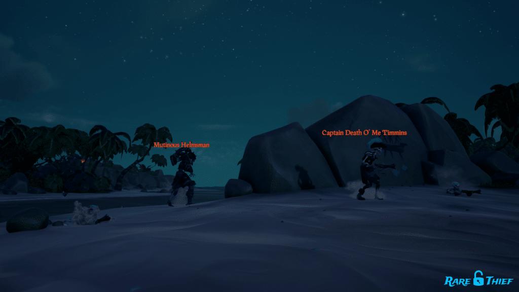 Raging Bounty Voyage Captain Wave