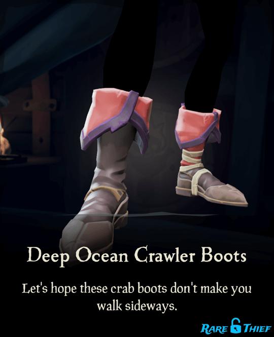 Deep Ocean Crawler Boots