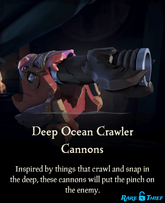 Deep Ocean Crawler Cannons