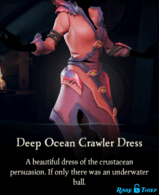 Deep Ocean Crawler Dress