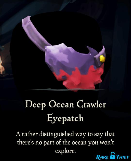 Deep Ocean Crawler Eyepatch