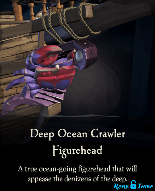 Deep Ocean Crawler Figurehead