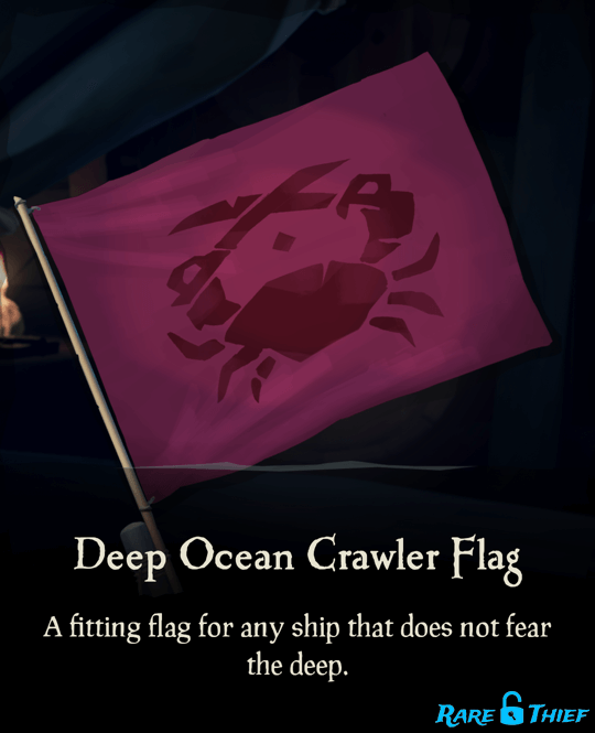 Deep Ocean Crawler Flag