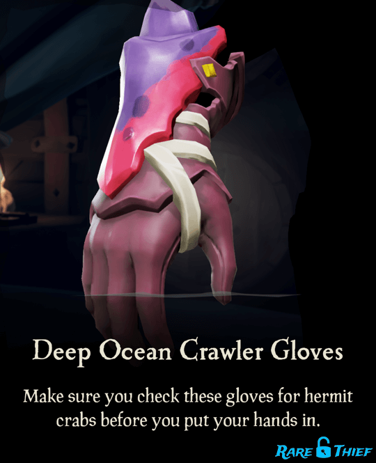 Deep Ocean Crawler Gloves