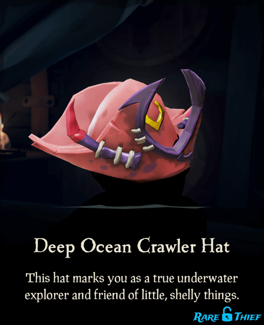 Deep Ocean Crawler Hat