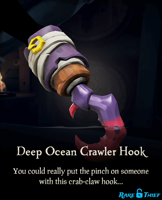 Deep Ocean Crawler Hook