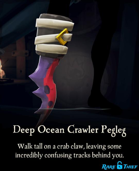 Deep Ocean Crawler Pegleg