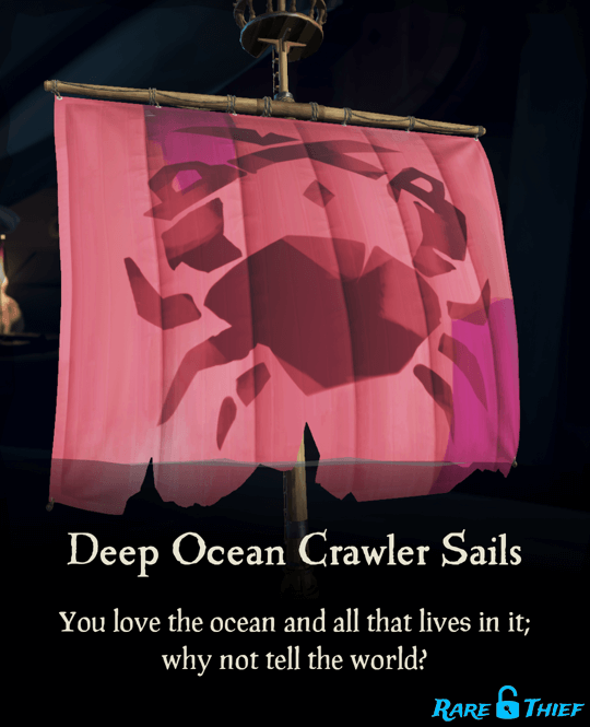 Deep Ocean Crawler Sails