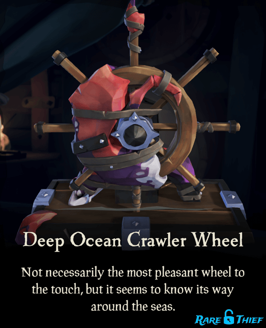 Deep Ocean Crawler Wheel