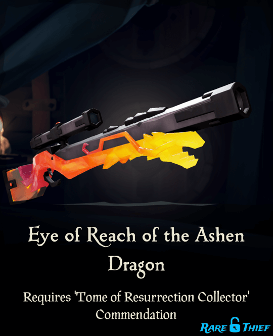 Eye of Reach of the Ashen Dragon