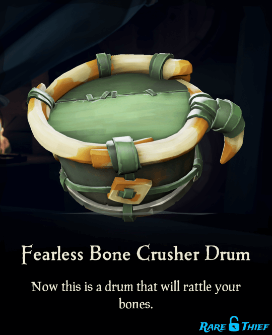 Fearless Bone Crusher Drum