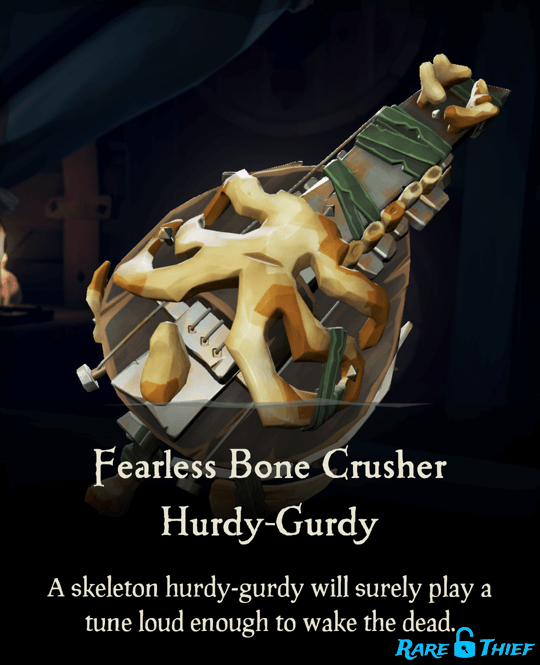 Fearless Bone Crusher Hurdy-Gurdy