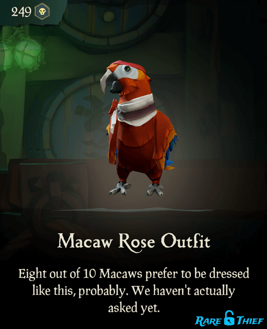 Macaw Rose Outfit