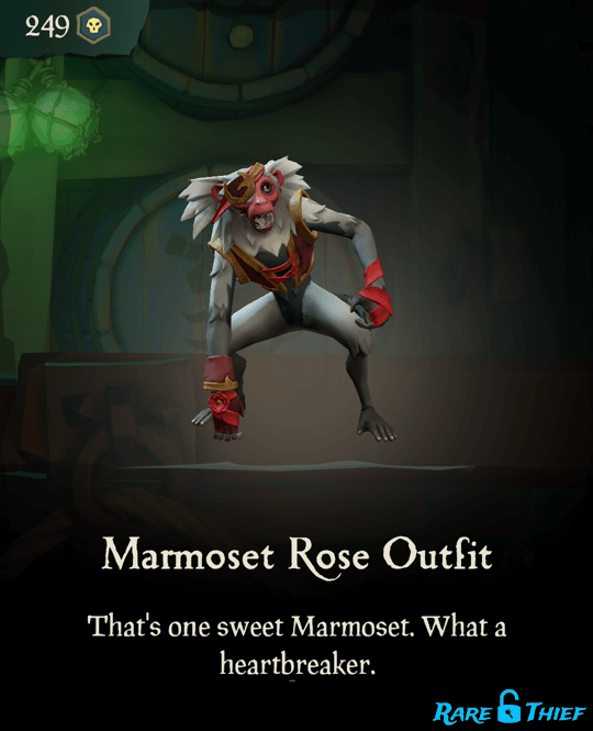 Marmoset Rose Outfit