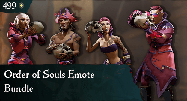 Order of Souls Emote Bundle