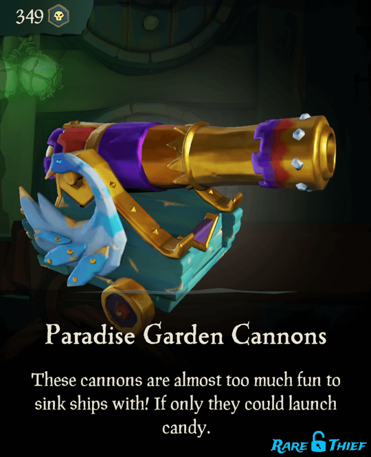 Paradise Garden Cannons