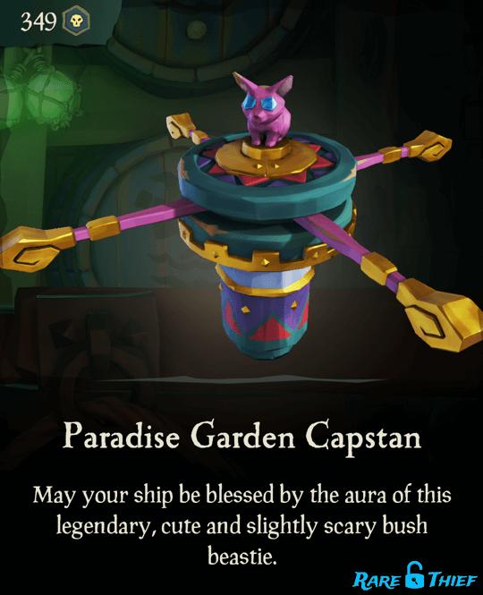 Paradise Garden Capstan