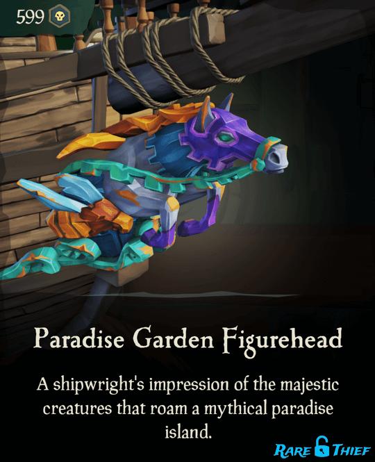 Paradise Garden Figurehead