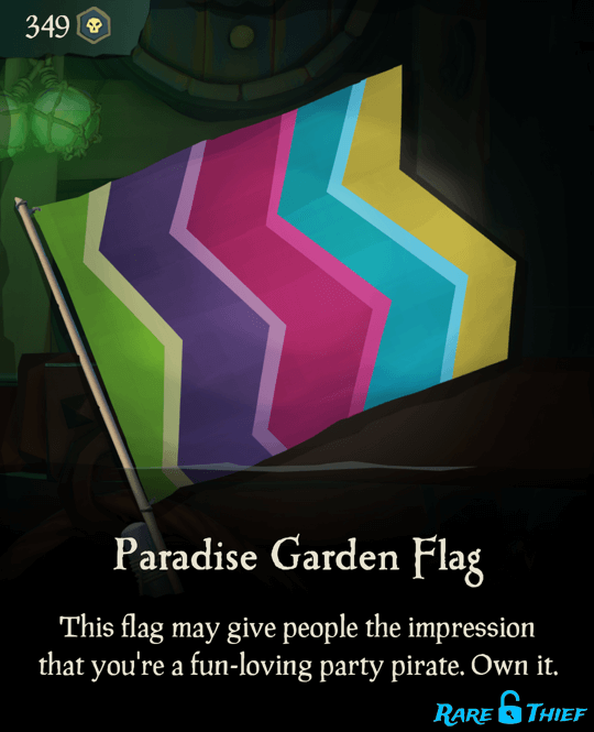Paradise Garden Flag